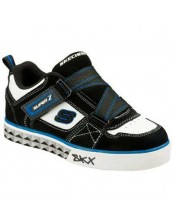 Skechers Boys' Vert Geometrics Velcro Shoes